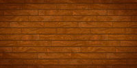 Brown realistic wooden boards with texture
