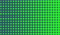 Simple green halftone background