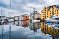 City of Alesund Norway