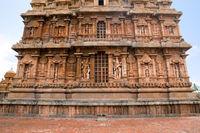 Niches on the western wall, Brihadisvara Temple, Tanjore, Tamil Nadu