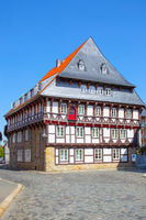 Half-timbered house in Goslar,