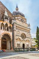 Church Basilica Santa Maria Maggiore in Bergamo