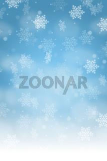 Weihnachten Hintergrund Schnee Karte Weihnachtskarte Dekoration Schneeflocke Hochformat Textfreiraum Copyspace