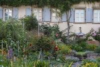 Garten eines alten Winzerhauses