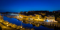 Ciutadella Harbour in Menorca, Spain