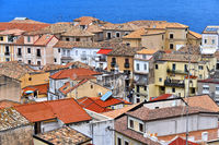 Architecture of Pizzo Calabro, Calabria, Italy