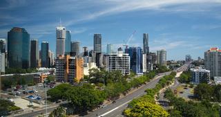 Skyline von Brisbane in Australien