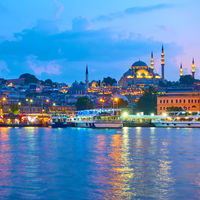 Fatih district in Istanbul