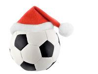Santa Claus soccer ball