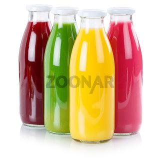 Saft Flasche Fruchtsaft freigestellt Freisteller