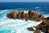 Atlantic coast in Spain