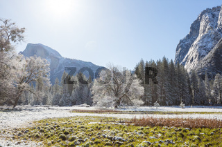 Winter in Yosemite