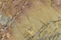 full frame abstract soil structure
