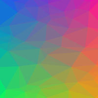 Colorful Polygonal Background. Rumpled Triangular Pattern. Low Poly Texture. Abstract Mosaic Design. Origami Style