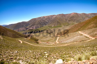 Landscape view of Jujuy, Argentina