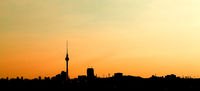 Berlin City Skyline Hintergrund Panorama Banner