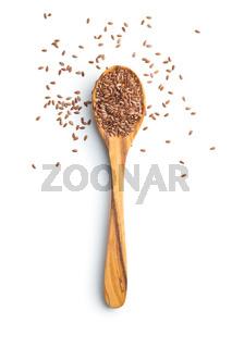 Flax seeds, linen seeds or linseeds.