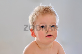Two year old boy