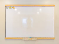 White board for children used to homeschool