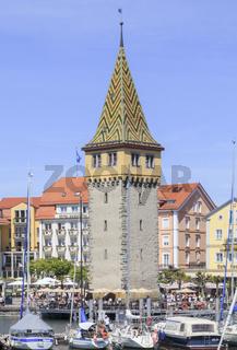 Mangturm am Lindauer Hafen, Bodensee