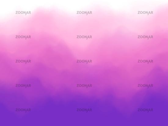 Violet abstract background. Fog or smoke effect. Violet clouds of mist.