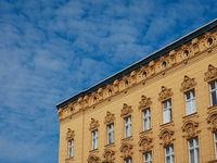 traditional historical facade in Berlin