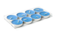 Plastic pack of tealight candles
