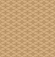 Seamless traditional Japanese ornament.Brown colors lines and background.