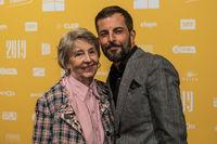Mutter und Sohn Bligg