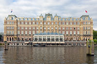 Dutch famous five star Amstel hotel in centre of Amsterdam