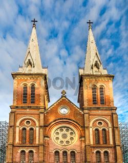 Notre-Dame Cathedral Basilica of Saigon. Vetnam