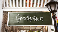 Street Sign to Graduation