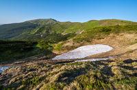 Massif of Pip Ivan, Carpathian, Chornohora, Ukraine.