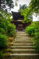 Jojakko-ji temple pagoda, Kyoto, Japan