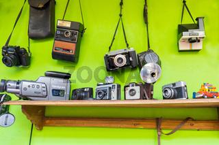 Bogota vintage cameras and video cameras
