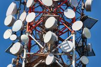 Transmitter tower detail