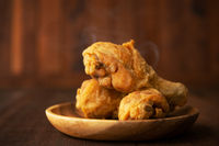 Plate of original recipe fried chickens