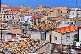 Architecture of Pizzo Calabro in the Province of Vibo Valentia