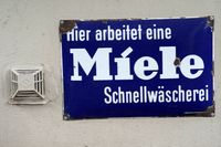 Vintage Schild Miele