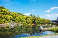 Tenryu-ji Garden and Temple Kyoto Japan