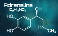 Chemical formula of Adrenaline