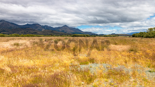 Mararoa landscape scenery in south New Zealand