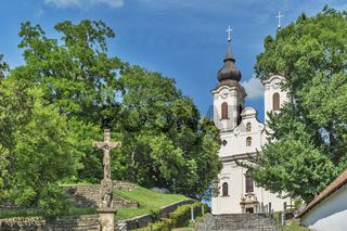 Abteikirche Tihany, Ungarn   Tihany Abbey, Hungary