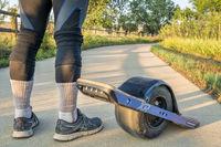 onewheel electric skateboard Poudre River Trail