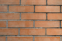 A red brick wall as a background