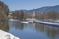 Bad Tölz im Winter