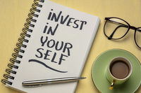 Invest in yourself motivational advice