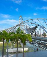 People Helix Bridge Flyer Singapore