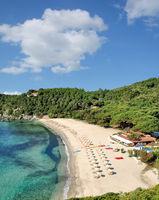 Strand von Fetovaia auf der Insel Elba,Toskana,Mittelmeer,Italien