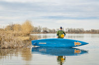 early spring stand up paddling